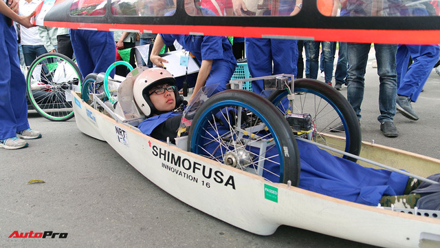 Xe tự chế của sinh viên Việt Nam đi được gần 587 km/lít xăng - Ảnh 8.