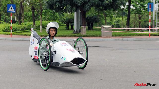 Xe tự chế của sinh viên Việt Nam đi được gần 587 km/lít xăng - Ảnh 4.