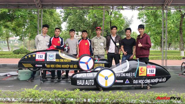 Xe tự chế của sinh viên Việt Nam đi được gần 587 km/lít xăng - Ảnh 2.
