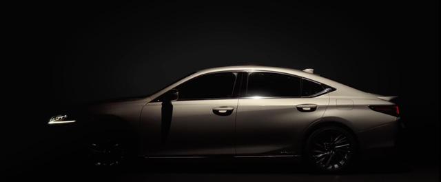 Lexus chính thức tung ảnh, video teaser ES 2019 ra mắt tuần tới - Ảnh 4.