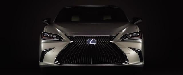 Lexus chính thức tung ảnh, video teaser ES 2019 ra mắt tuần tới - Ảnh 2.