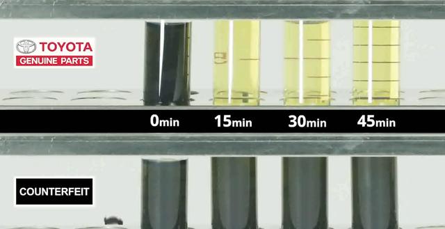 Toyota hướng dẫn cách phân biệt phụ tùng ô tô nhái, kém chất lượng - Ảnh 3.