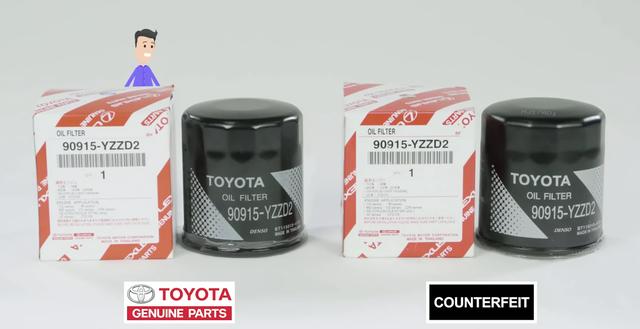 Toyota hướng dẫn cách phân biệt phụ tùng ô tô nhái, kém chất lượng - Ảnh 1.