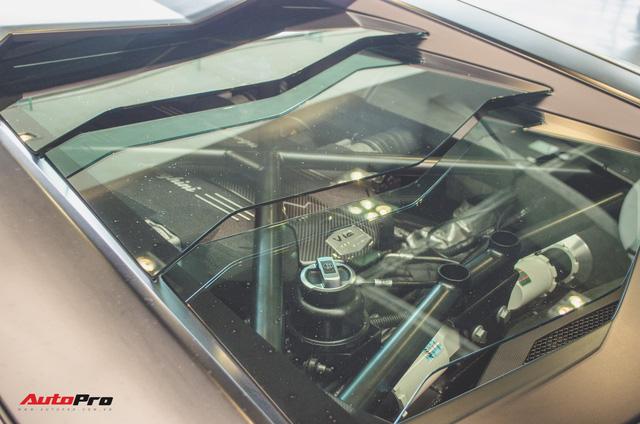 Mổ xẻ Lamborghini Aventador để làm bàn ghế uống nước - Ảnh 4.