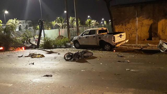 Xác định nguyên nhân ban đầu vụ xe điên tông hàng loạt xe máy ở Sài Gòn - Ảnh 1.