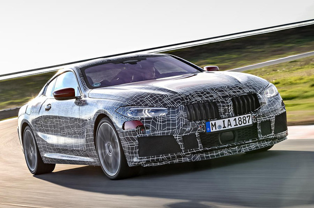 BMW 8-Series lộ diện trước ngày ra mắt chính thức - Ảnh 5.