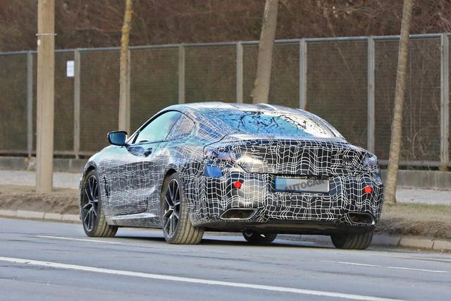 BMW 8-Series lộ diện trước ngày ra mắt chính thức - Ảnh 4.