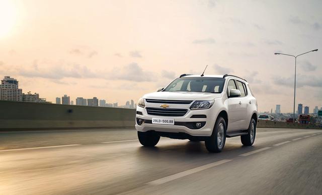 Chevrolet Trailblazer chốt lịch ra mắt tại Việt Nam, cạnh tranh Toyota Fortuner - Ảnh 1.