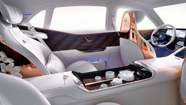 Đây là phòng khách dành cho người cuồng Mercedes-Maybach - Ảnh 2.