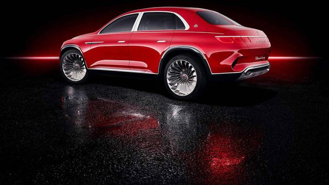 Mercedes-Maybach chính thức ra mắt concept SUV kỳ lạ nhất từ trước tới nay - Ảnh 12.