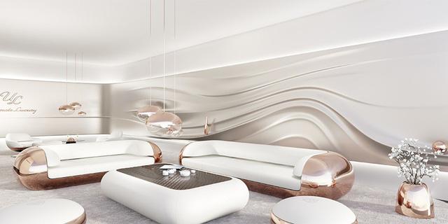 Đây là phòng khách dành cho người cuồng Mercedes-Maybach - Ảnh 1.