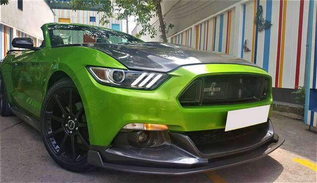 Ford Mustang mui trần độ khủng được bán lại với giá 2,35 tỷ đồng - Ảnh 3.