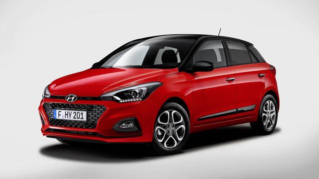 Hyundai nâng cấp i20 cạnh tranh Ford Fiesta, Honda Jazz - Ảnh 1.