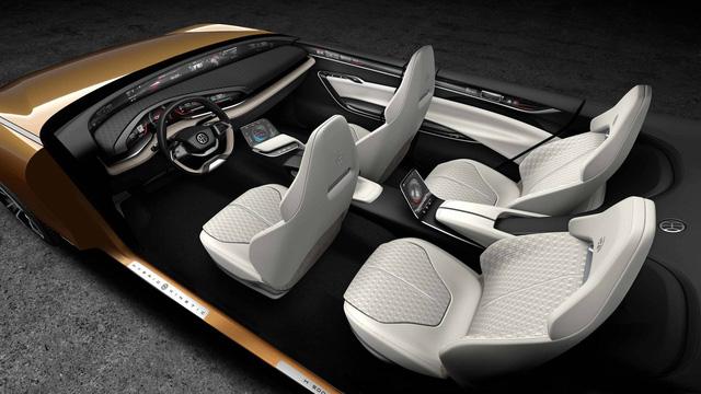 Pininfarina H500: Sedan châu Á, thiết kế châu Âu - Ảnh 6.