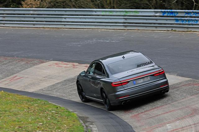 Audi S8 sắp ra mắt với động cơ V8 lấy từ Porsche Panamera Turbo - Ảnh 6.