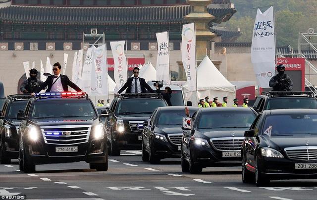 Khám phá bộ đôi Mercedes-Benz bọc thép của lãnh đạo Triều Tiên và tổng thống Hàn Quốc - Ảnh 4.