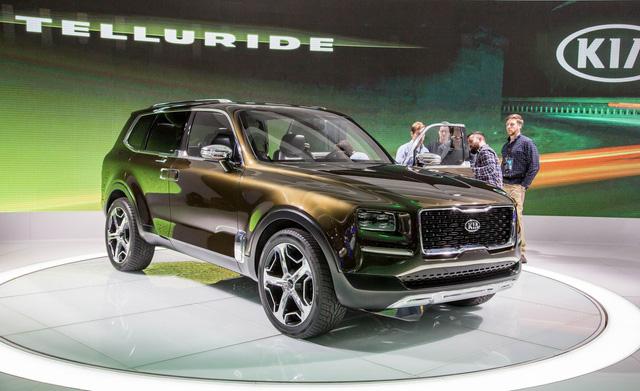 Kia chốt hạ sản xuất mẫu SUV 7 chỗ hoàn toàn mới - Ảnh 1.