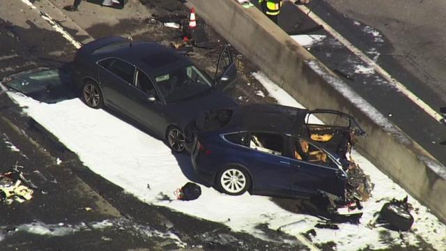 Tài xế Tesla chạy lại tuyến đường Autopilot gặp tai nạn chết người, suýt mang vạ theo - Ảnh 3.