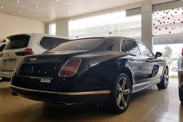 Bentley Mulsanne Speed 2015 nhập lướt có giá 24,5 tỷ đồng tại Việt Nam - Ảnh 5.