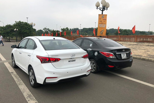 Hyundai Accent 2018 xuất hiện tại Hà Nội, lộ trang bị trước ngày ra mắt - Ảnh 4.