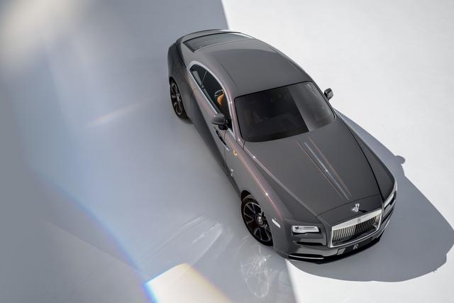 Rolls-Royce Wraith Luminary Collection: Khi bầu trời sao thêm rực sáng - Ảnh 1.