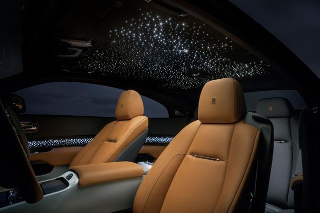 Rolls-Royce Wraith Luminary Collection: Khi bầu trời sao thêm rực sáng - Ảnh 4.