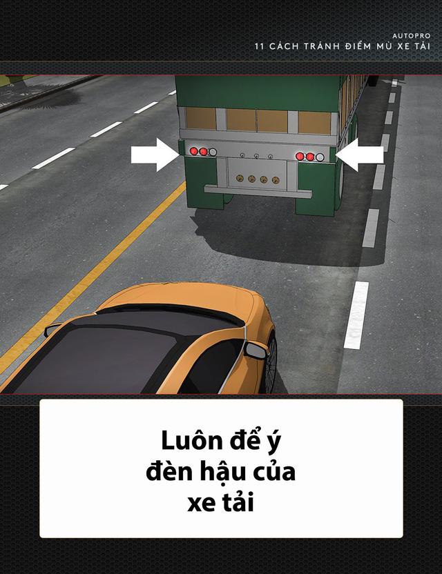 [Photo Story] 11 bí quyết lái xe sống còn bạn phải nhớ khi gặp xe tải - Ảnh 3.