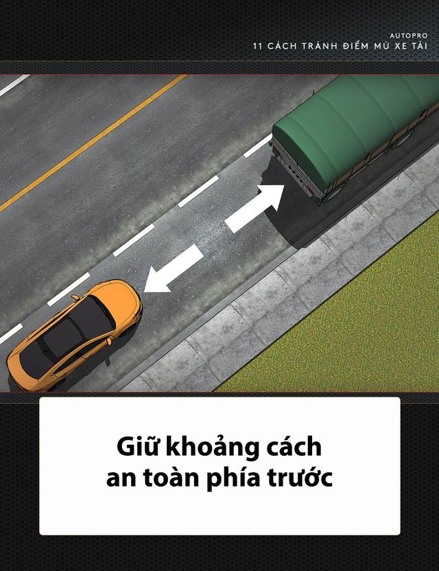 [Photo Story] 11 bí quyết lái xe sống còn bạn phải nhớ khi gặp xe tải - Ảnh 5.