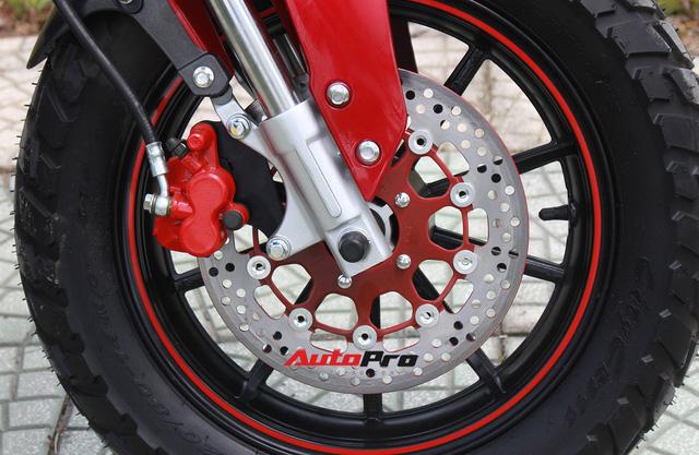 Chi tiết City Hunter - Xe côn tay 110cc giá 33 triệu đồng tại Hà Nội - Ảnh 11.