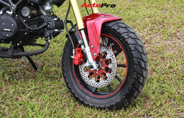 Chi tiết City Hunter - Xe côn tay 110cc giá 33 triệu đồng tại Hà Nội - Ảnh 10.
