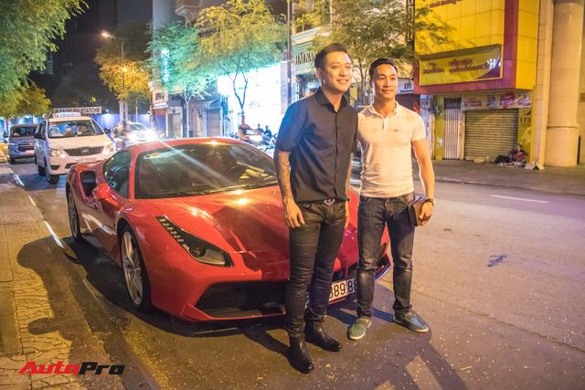 Tuấn Hưng cùng Ferrari 488 GTB bất ngờ xuất hiện tại Sài Gòn - Ảnh 7.