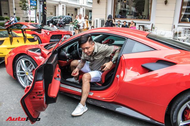 Cường Đô La, Tuấn Hưng cùng dàn siêu xe trăm tỷ khuấy động Sài Gòn cuối tuần - Ảnh 7.