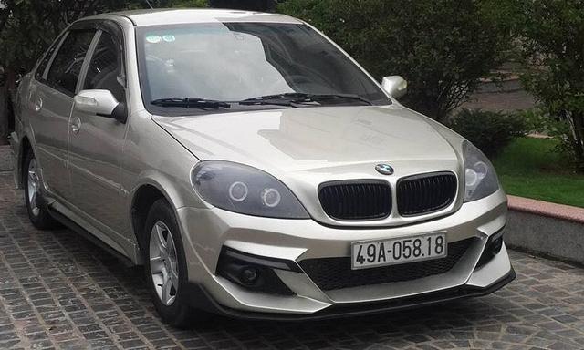 Dân chơi Lâm Đồng độ xe Trung Quốc chục năm tuổi kiểu BMW - Ảnh 4.