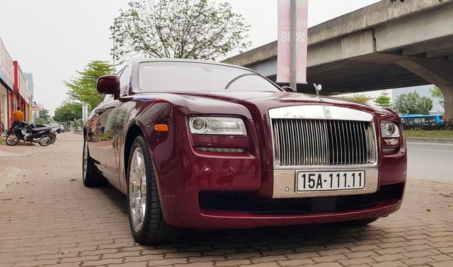 Đại gia Huế tậu Rolls-Royce Ghost Series I từng đeo biển ngũ quý 1, giá hơn 11 tỷ đồng - Ảnh 5.
