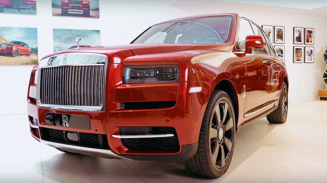 Rolls-Royce Cullinan chính hãng giá trên 41,2 tỷ đồng đã có đại gia Việt đặt hàng