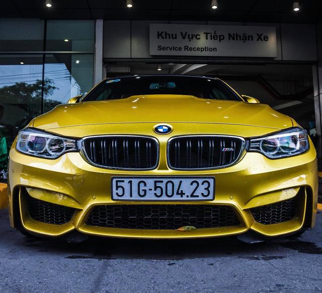 Sau 7 tháng đi 12.000km, BMW M4 chính hãng mất giá hơn 1,2 tỷ đồng - Ảnh 1.