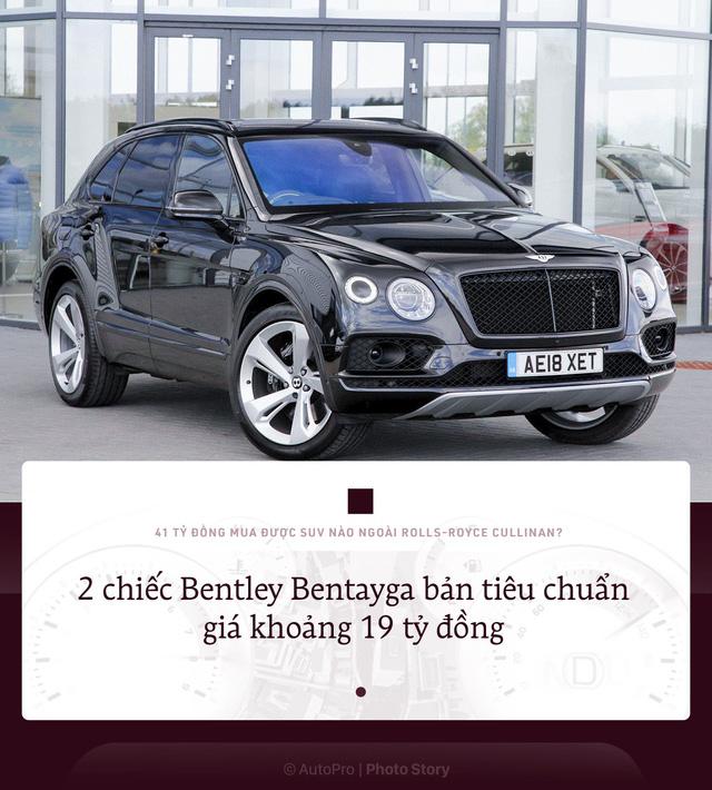 41 tỷ đồng mua được bao nhiêu SUV khác nếu không chọn Rolls-Royce Cullinan? - ảnh 1