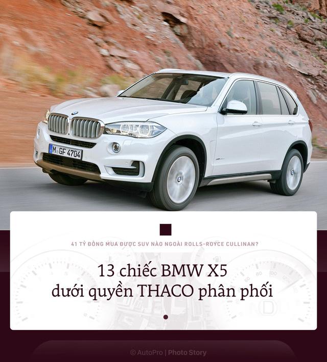 41 tỷ đồng mua được bao nhiêu SUV khác nếu không chọn Rolls-Royce Cullinan? - ảnh 4