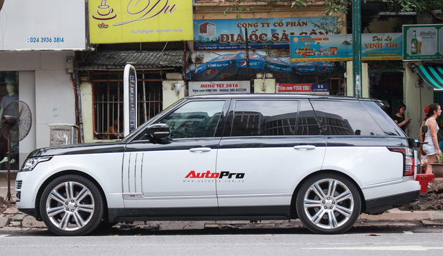 Trào lưu chơi xe 2 màu phong cách Range Rover SVAutobiography của dân chơi Việt - Ảnh 2.