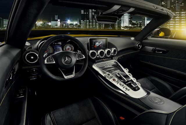 Mercedes-AMG GT S Roadster: Chủ lực GT mui trần thứ 3 trình làng - ảnh 9