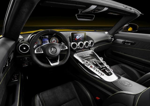 Mercedes-AMG GT S Roadster: Chủ lực GT mui trần thứ 3 trình làng - ảnh 4