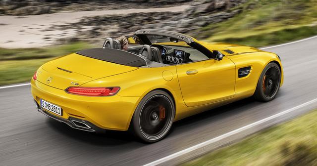 Mercedes-AMG GT S Roadster: Chủ lực GT mui trần thứ 3 trình làng - ảnh 3
