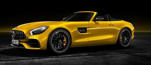 Mercedes-AMG GT S Roadster: Chủ lực GT mui trần thứ 3 trình làng - ảnh 1