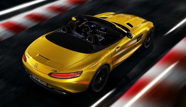 Mercedes-AMG GT S Roadster: Chủ lực GT mui trần thứ 3 trình làng - ảnh 6