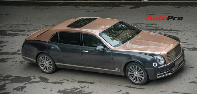 """Hà Nội: """"Ninja"""" đi Honda Vision húc đuôi Bentley Mulsanne EWB vẫn cố cãi lý, khi biết giá trị chiếc xe mới giật mình - Ảnh 3."""