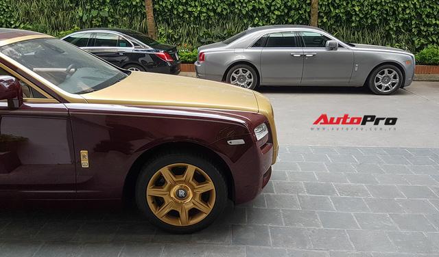 Ông chủ tập đoàn FLC tậu thêm Rolls-Royce Ghost dát vàng khủng nhất Việt Nam - Ảnh 14.