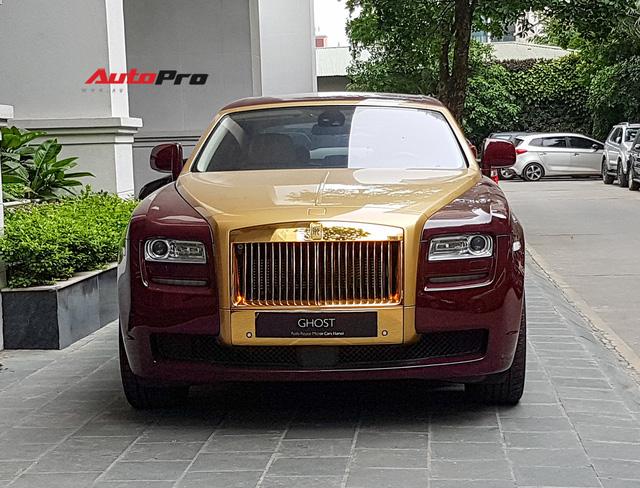 Ông chủ tập đoàn FLC tậu thêm Rolls-Royce Ghost dát vàng khủng nhất Việt Nam - Ảnh 11.