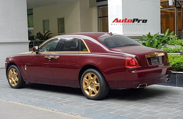 Ông chủ tập đoàn FLC tậu thêm Rolls-Royce Ghost dát vàng khủng nhất Việt Nam - Ảnh 5.
