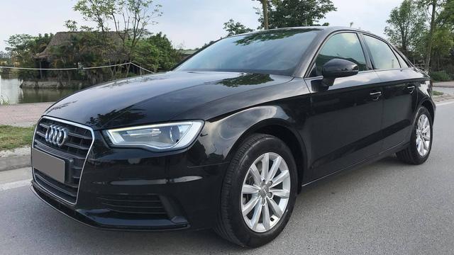 Audi A3 sedan mất một nửa giá trị sau hơn 3 năm sử dụng