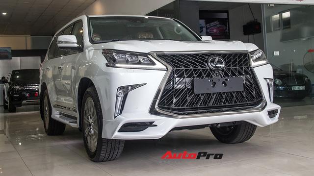 Khám phá chi tiết Lexus LX570 Super Sport 2018 giá gần 10 tỷ đồng tại Việt Nam